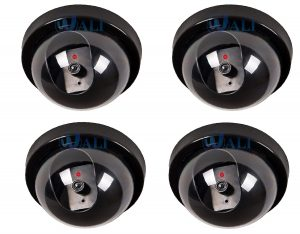4-Pack-Dummy-Fake-Security-CCTV-Dome-Camera-Review