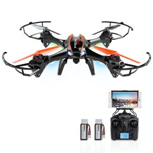 DBPOWER-Predator-WiFi-FPV-RC-Drone-with-HD-Camera-Review