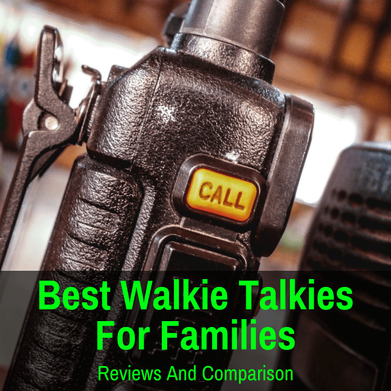 Best walkie talkies for your family road trips
