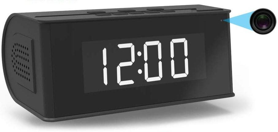 Alarm clock hidden camera review
