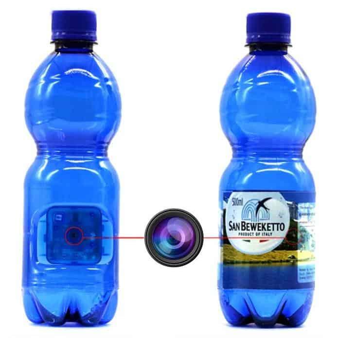 Weke water bottle nanny cam