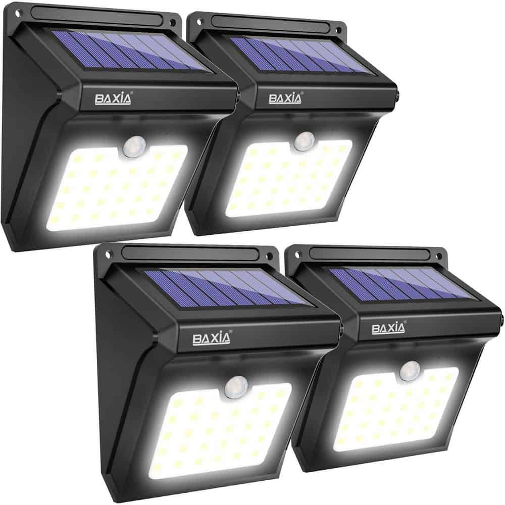 Baxia Tech outdoor solar lights