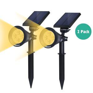 Nekteck-Solar-Powered-Garden-Spotlight-Review