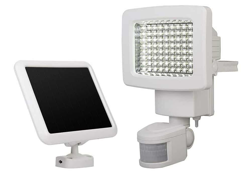 Sunforce solar power motion sensing outdoor led light