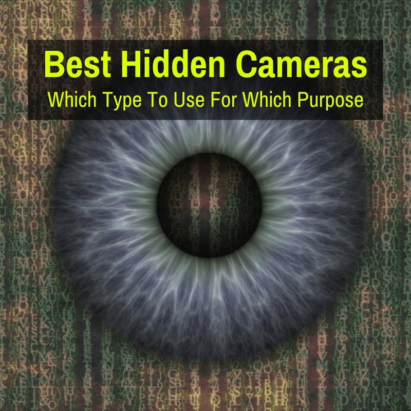 Top hidden cameras