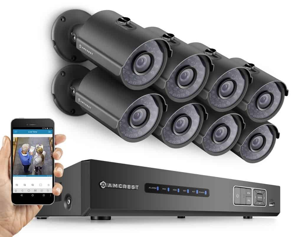 Amcrest home security system