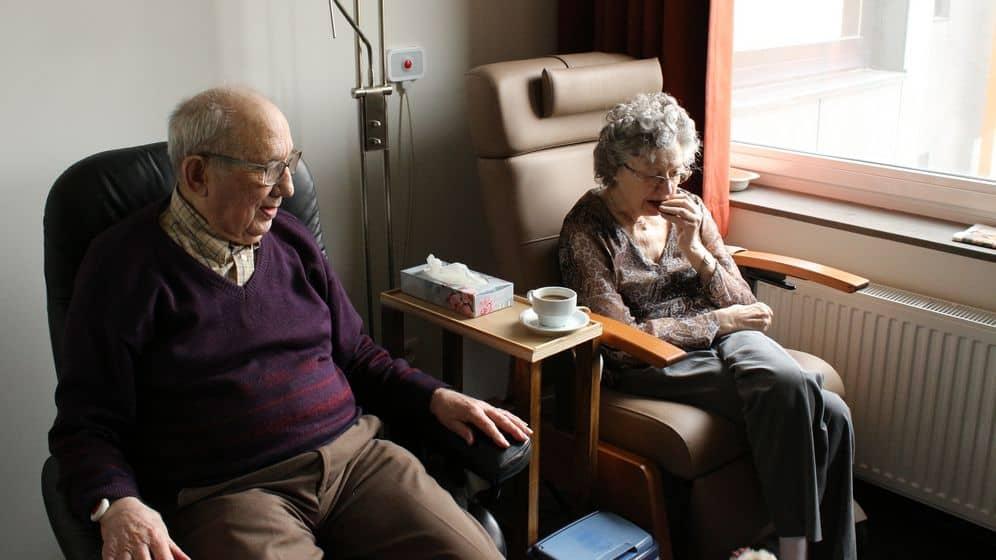Senior citizens safe at home