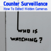 Detecting hidden cameras