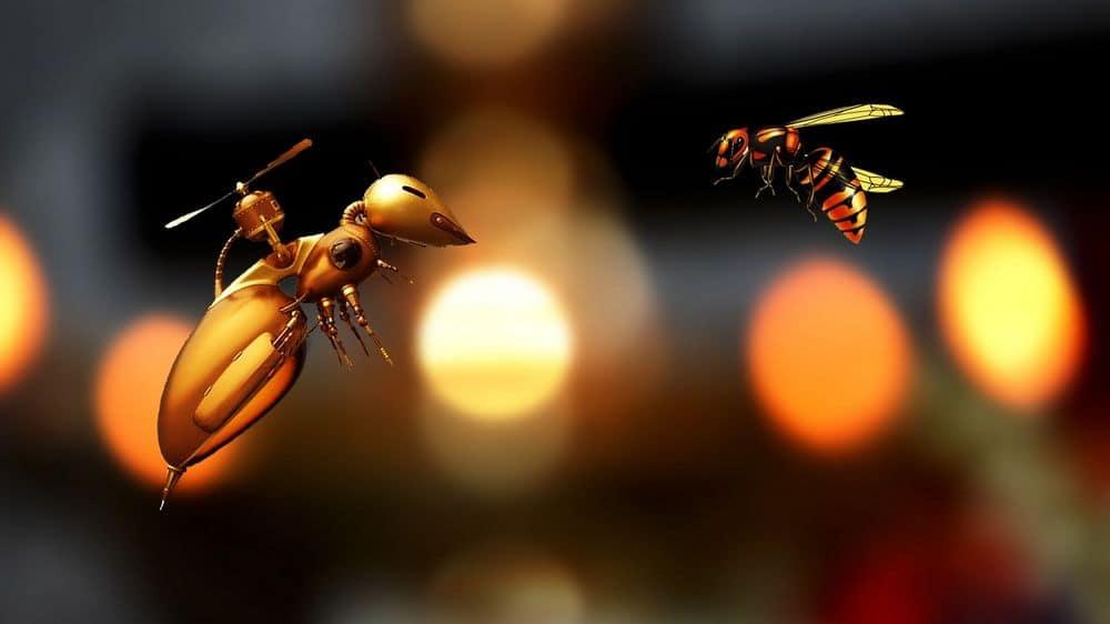 A tiny bug drone