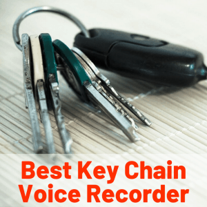 Best keychain voice recording device