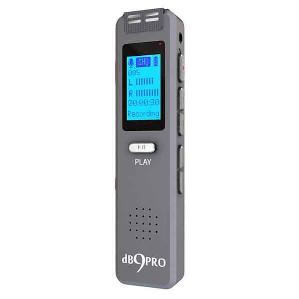 dB9PRO voice recorder review