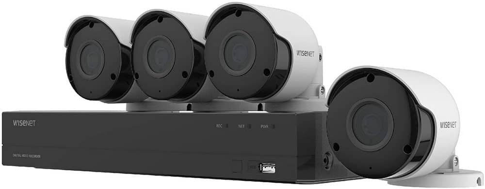 Samsung Wisenet security camera system
