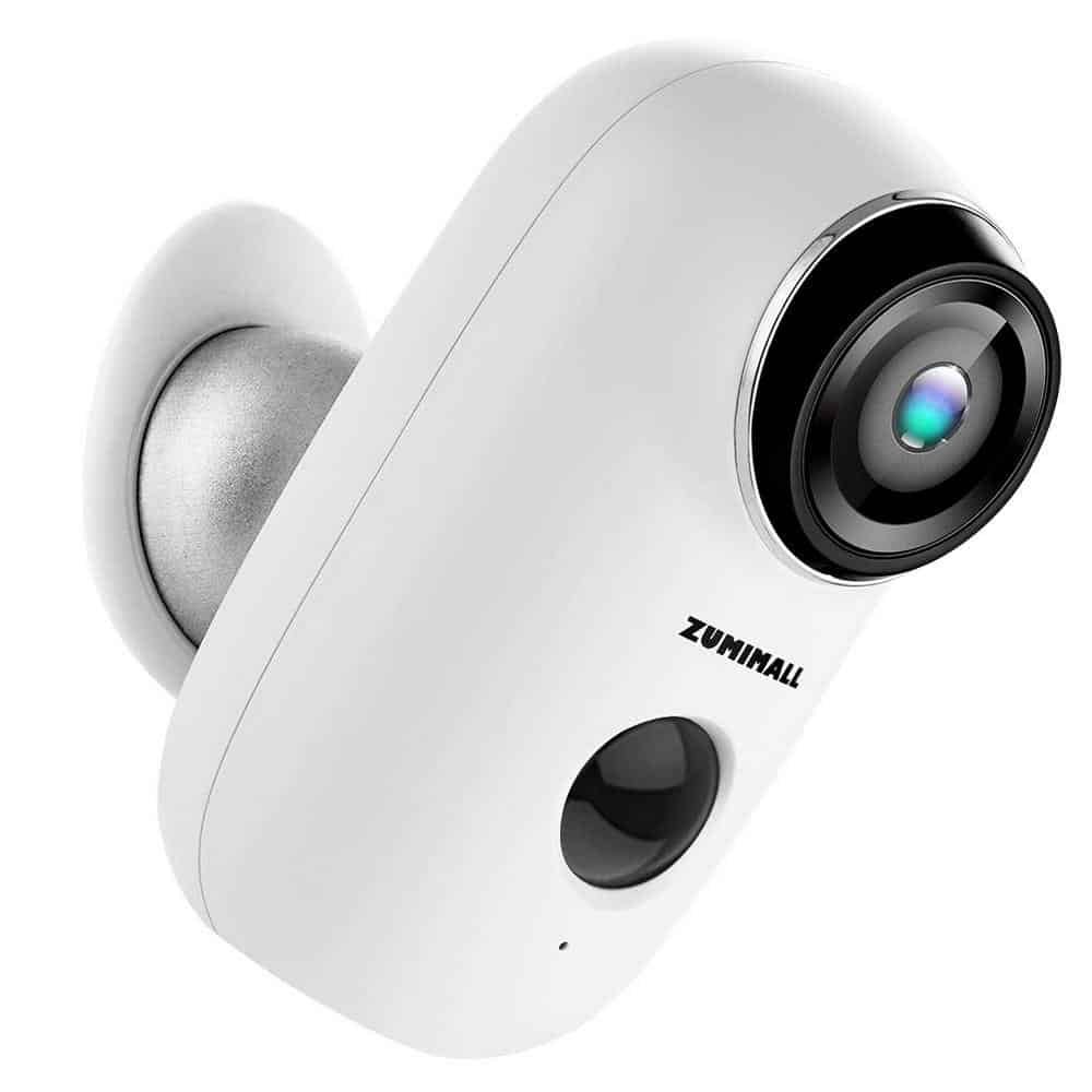 Zumimall battery powered security camera