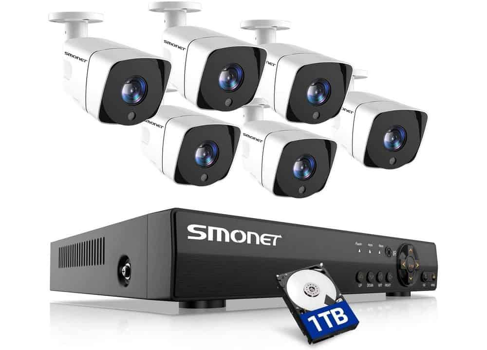 Smonet security camera system