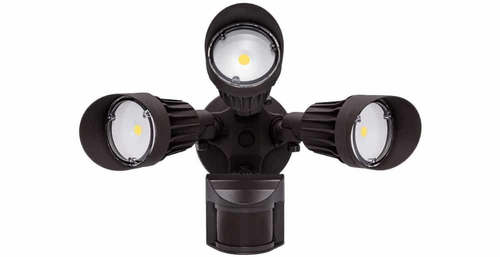 JCC LED outdoor security flood light
