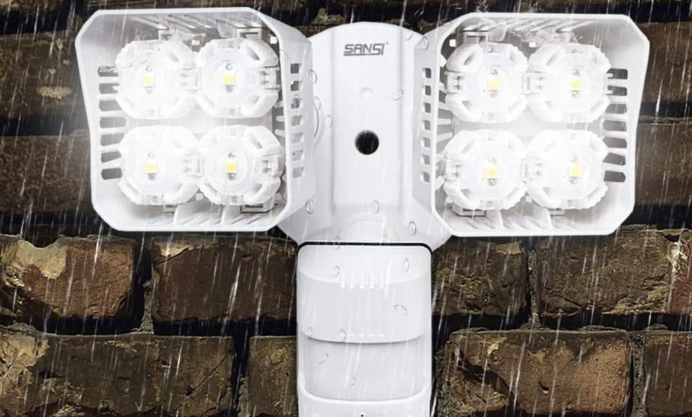 SANSI waterproof outdoor security lights
