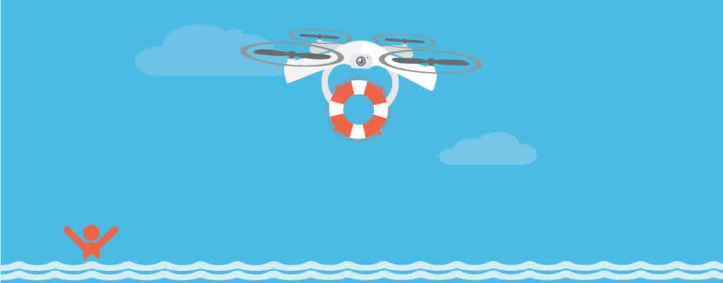 search and rescue drone drawing