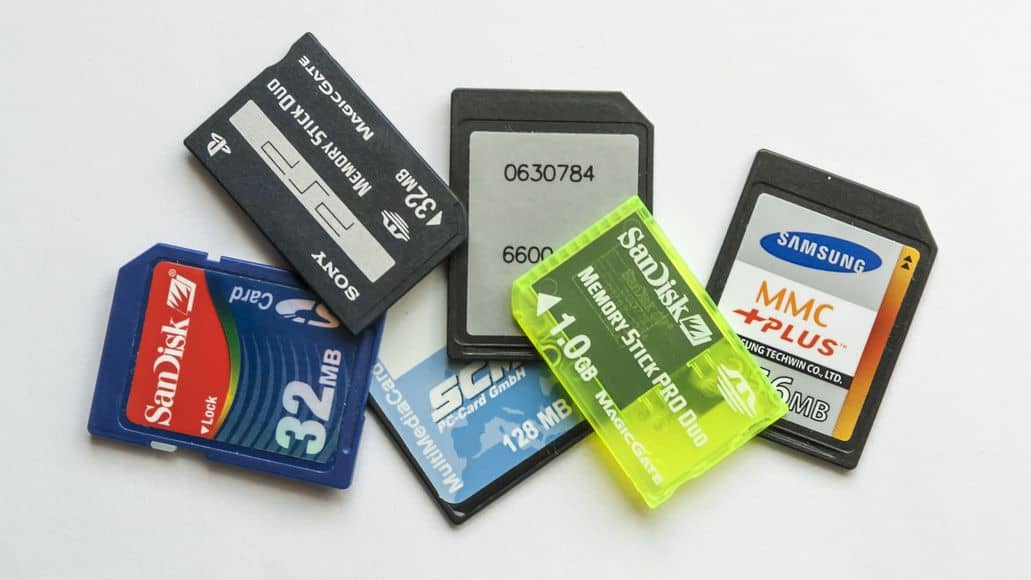 Different SD cards for dash camera