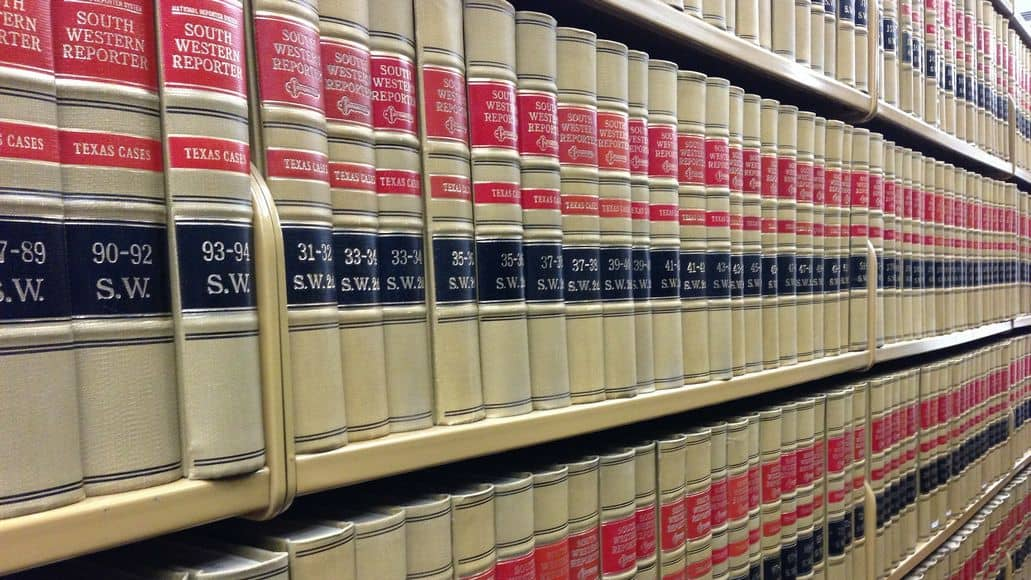 law and regulation books