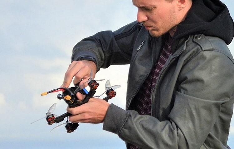 drone feet check