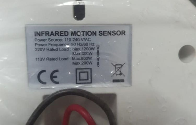 passive infrared motion detector