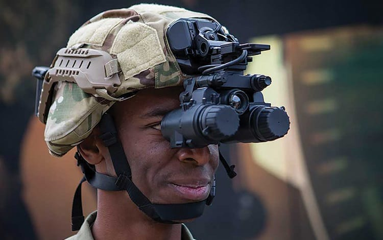 military night vision equipment