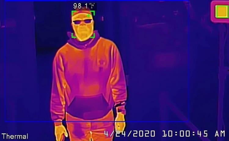 thermal imaging night vision