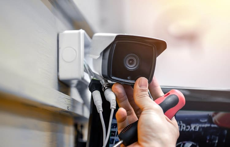 wired security cam