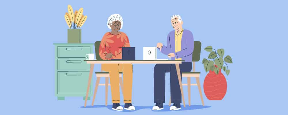 How To Protect The Elderly Online